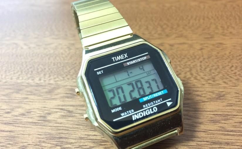 TIMEX(タイメックス)社の角デジを買った話。