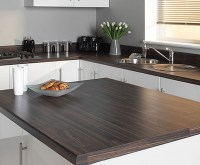 Wood Laminate Worktop - Home Safe