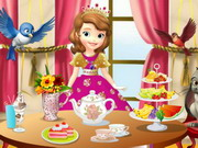 Sofia The First Tea Party Play The Free Game Online