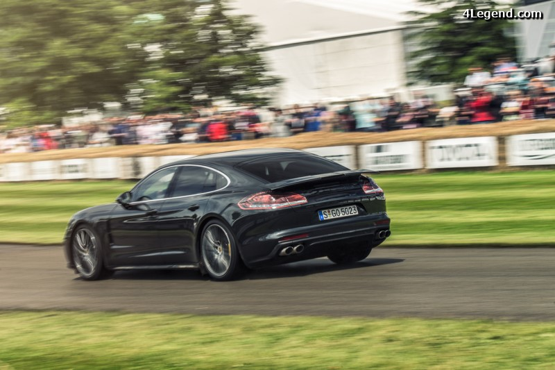 goodwood 2016 porsche pr sente sa nouvelle panamera au public. Black Bedroom Furniture Sets. Home Design Ideas