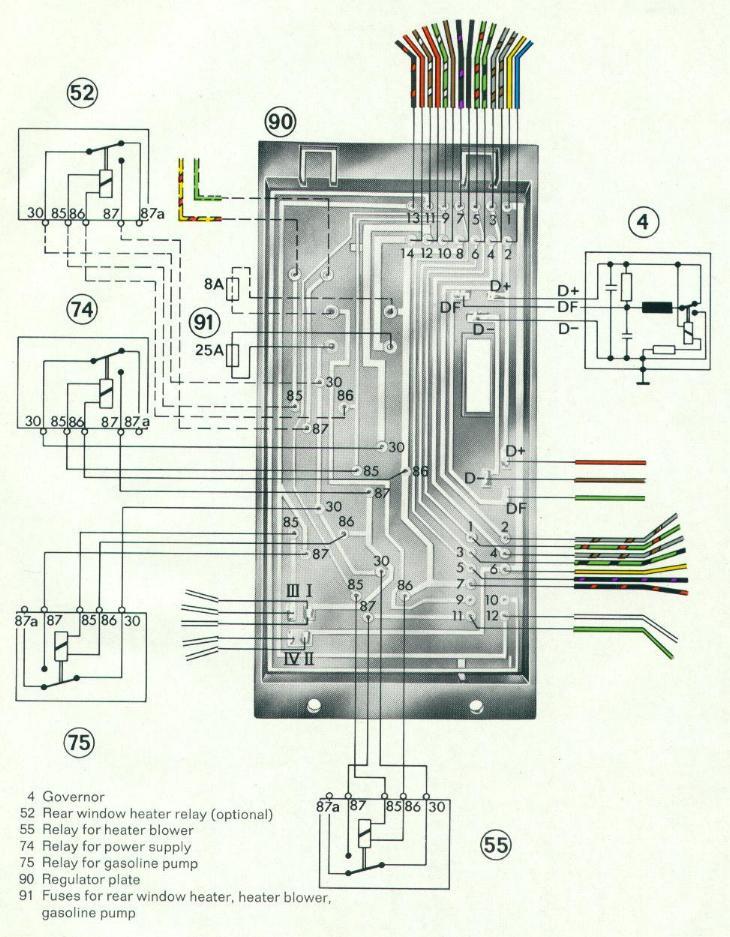 Porsche 914 Wiring Diagram Electronic Schematics collections