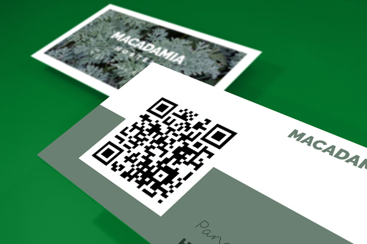 Print Business Cards with QR Code 4OVER4COM