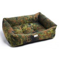 Chilli Dog Forest Camouflage Sofa Dog Bed