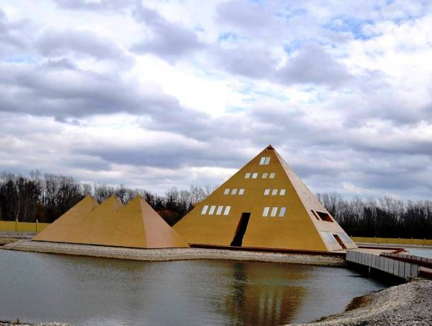 Home Made - Gold Pyramid House