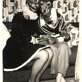 Creepy Vintage Animal Masks (3)