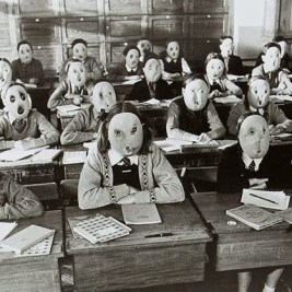 Creepy Vintage Animal Masks (5)