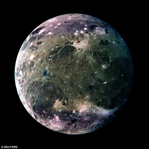 Scientists using the Hubble recently provided powerful evidence that Jupiter's moon Ganymede (pictured) has a saltwater, sub-surface ocean, likely sandwiched between two layers of ice