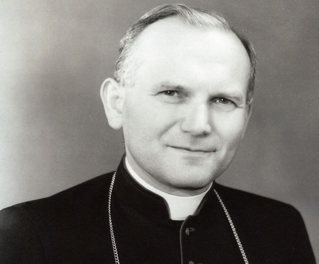Cardinal Wojtyla in the 1970s
