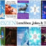 FROZEN Lunchbox Jokes & Trivia -FREE Printable  #FrozenFunFriday