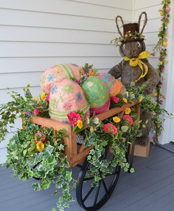 Outdoor Easter Decorations Ideas
