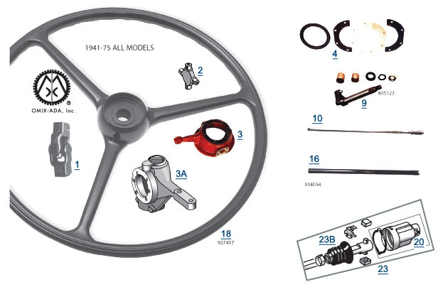 Jeep RT Off-Road Vintage Steering - Best Reviews  Prices at 4WP