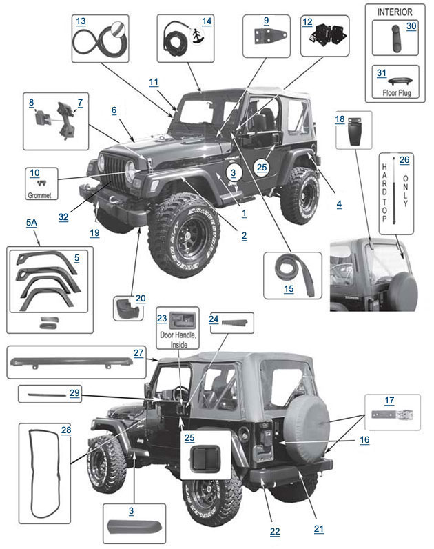 2005 jeep rubicon wiring diagram