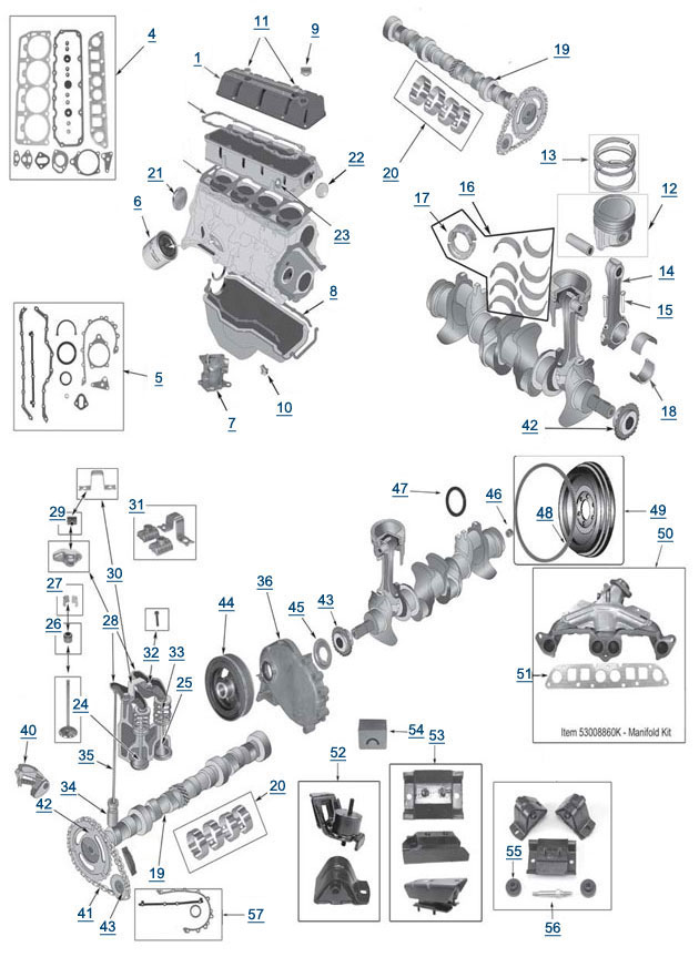 jeep wrangler 2 4 engine diagram