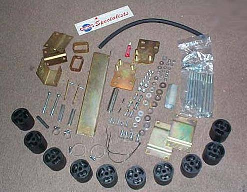 4x4 Parts - Xterra 3 Inch Body Lift BLPA0203XBL - Your #1 Source for