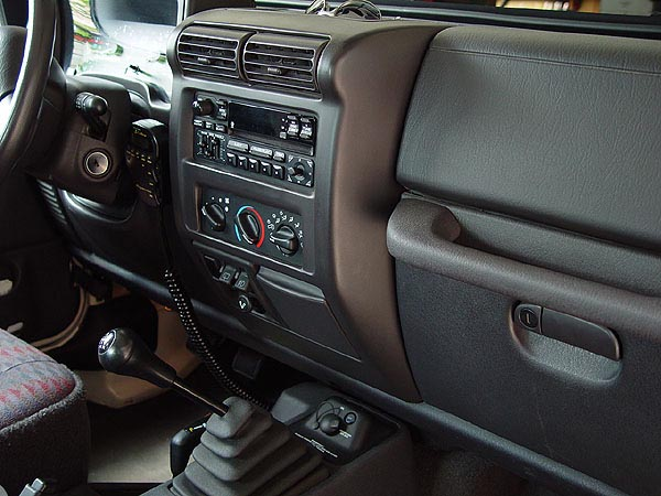Mounting a CB radio in your TJ - Jeep Wrangler Forum