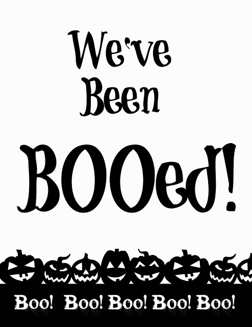 You\u0027ve Been Booed! \u2013 Free Printables - 4 You With Love