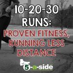 10-20-30 Runs – Proven Fitness, Running Less Distance