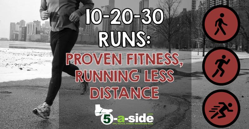 10-20-30 Runs Title - proven fitness running less distance