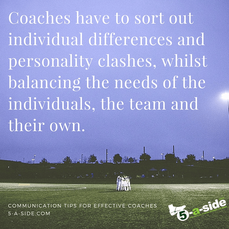 Communication Tips for Coaches teamwork
