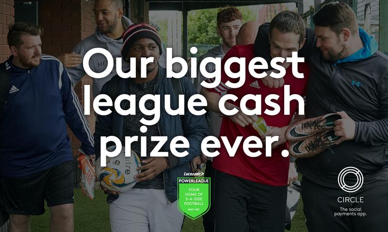 Powerleague win £50k Circle Pay Promotion