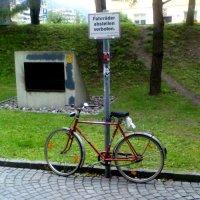 Skandal! Problemfans des SC Freiburg fahren Fahrrad