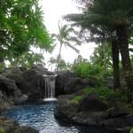 Grand-Hyatt-Kauai-waterfall