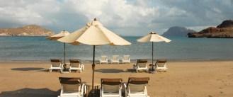 Beach front at Villa del palmar in loreto