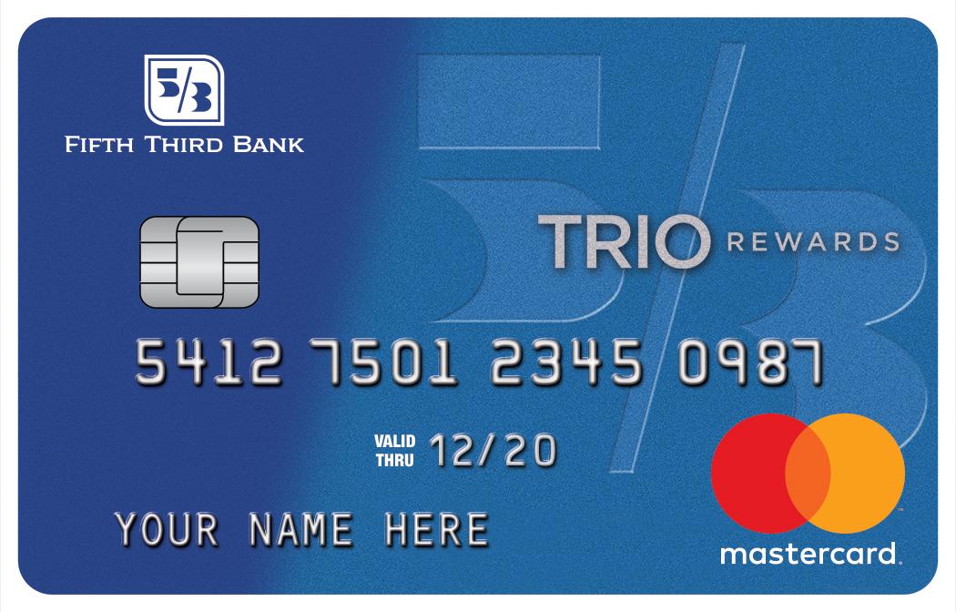 TRIO® Cash Back Credit Card Fifth Third Bank