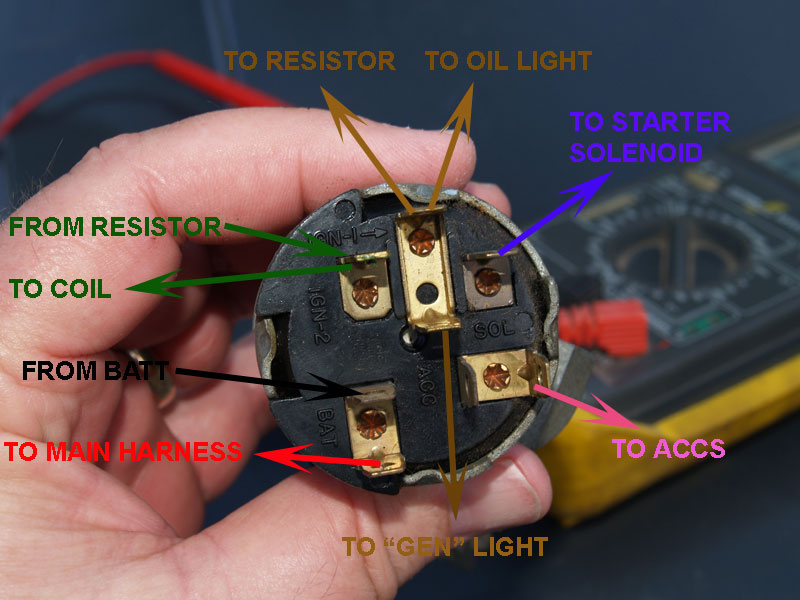 1969 Chevy Ignition Switch Wiring Wiring Diagram