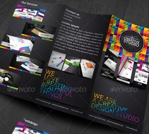 45 Creative Premium Brochure Template Designs - 56pixels