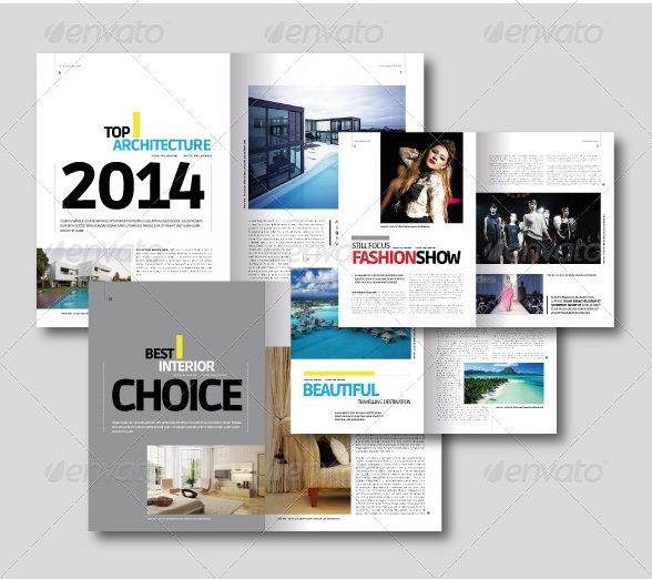 ⇒ Download Free and Premium Print Magazine Templates - 56pixels
