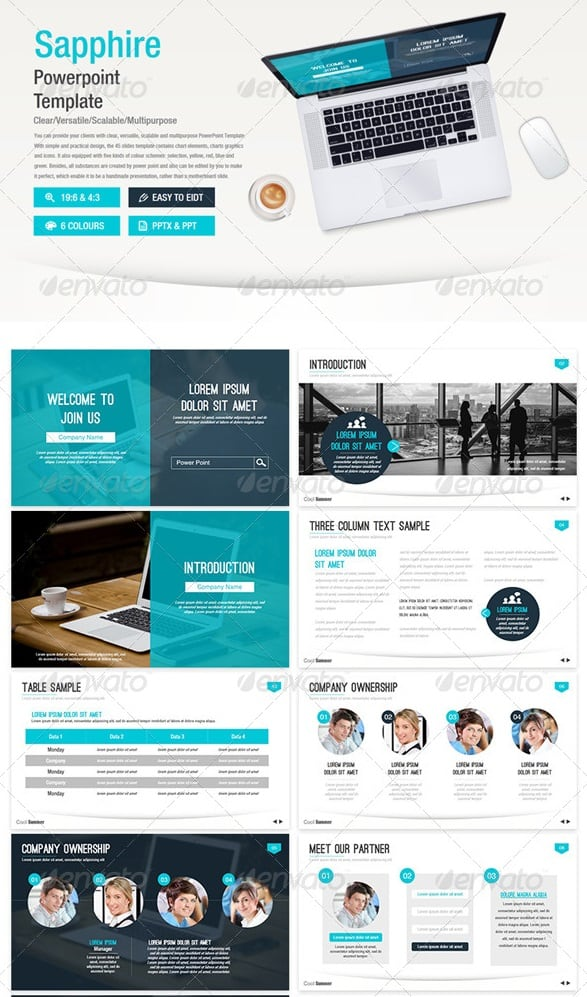 Free and Premium PowerPoint Templates 56pixels - powerpoint flyer template