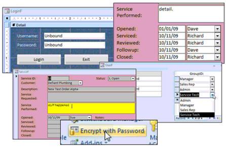 Microsoft Access Database Security Seminar Tutorial