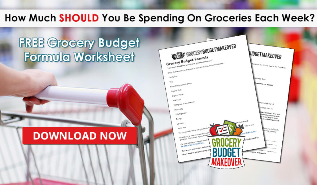 Free Formula Worksheet Download} How Much SHOULD You Be Spending on