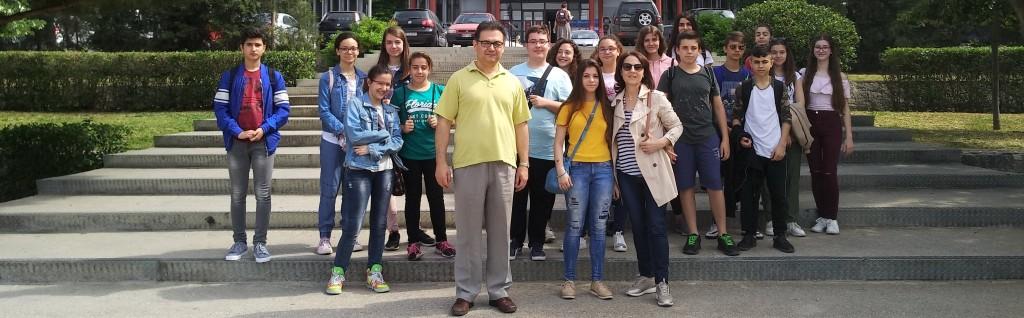 Επίσκεψη των Ομάδων Αστρονομίας και Δημοσιογραφίας στο Αστεροσκοπείο του Αριστοτελείου Πανεπιστημίου Θεσσαλονίκης