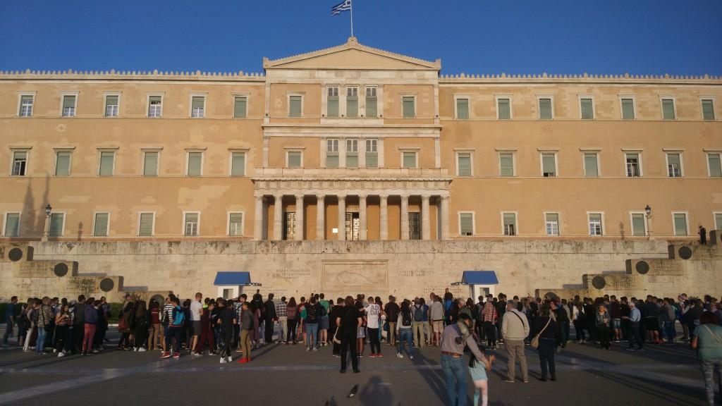 Τριήμερη εκπαιδευτική επίσκεψη του 5ου Γυμνασίου Κατερίνης στη Βουλή των Ελλήνων