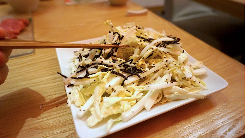 Chinese Cabbage and Umami Seaweed