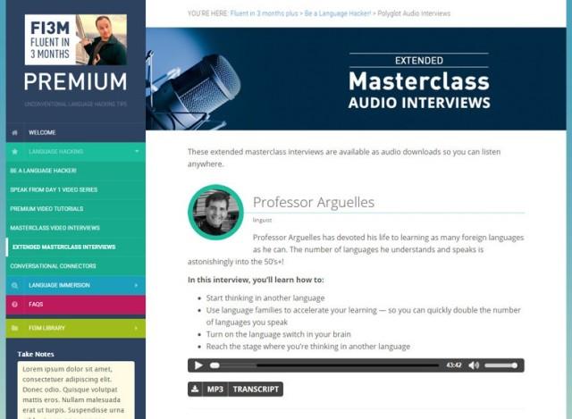 Fluent in 3 Months Premium review