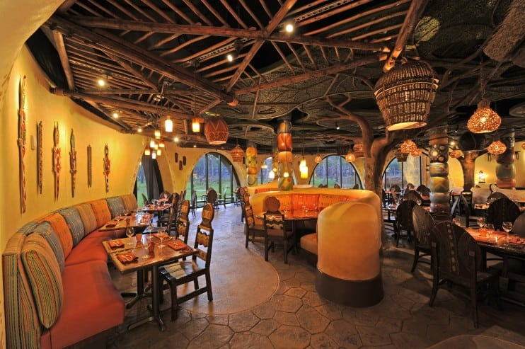 Sanaa Restaurant Interior