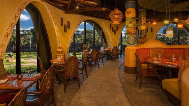 Sanna Restaurant - Disney's Animal Kingdom Lodge - Walt Disney World