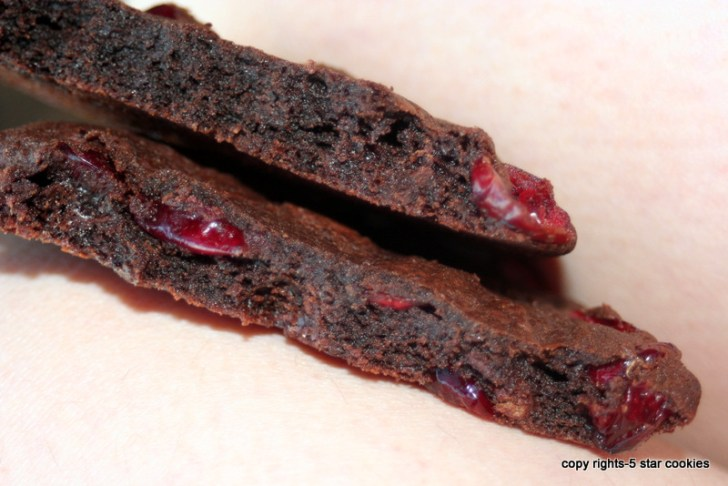 ... list in order to make Dark Chocolate Cookies with Sour Cherries