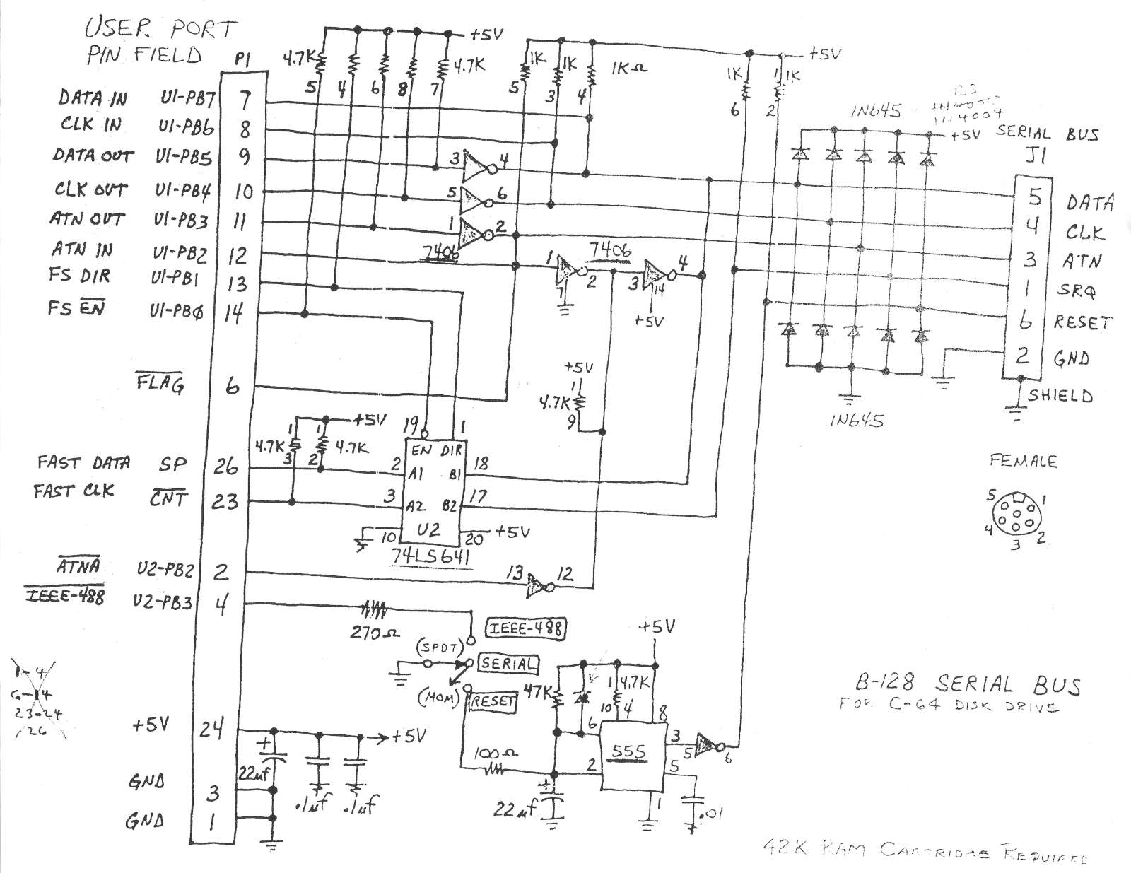 8088 computer schematics