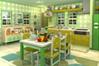 [7コの青リンゴを探し出す脱出ゲーム]フルーツ・キッチン No.02 グリーンアップル