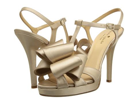 Kate Spade New York - Ribbon (Champagne Satin) High Heels