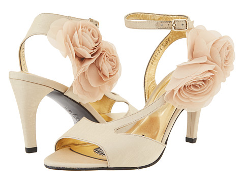 Ros Hommerson - Sexy (Gold Fabric) Women's Dress Sandals