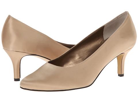 rsvp - Lacina (Champagne Satin) Women's Sling Back Shoes