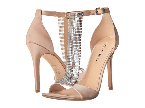 Via Spiga - Timone (Champagne Satin) Women's Shoes