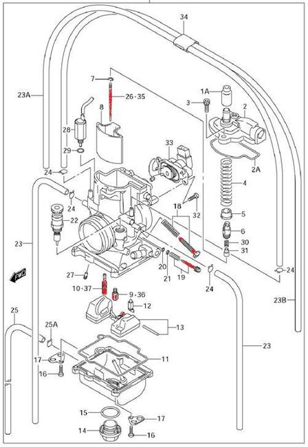 carter gtr 250 wiring diagram