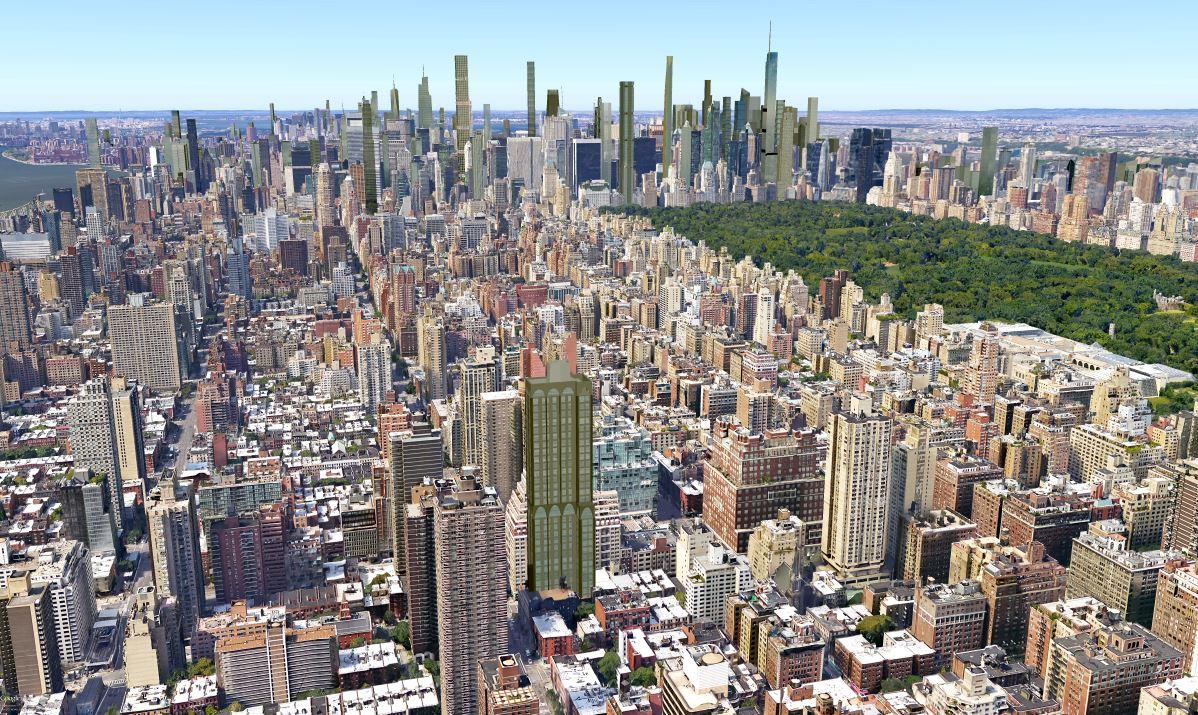 New York City Supertall List Manhattan Thread
