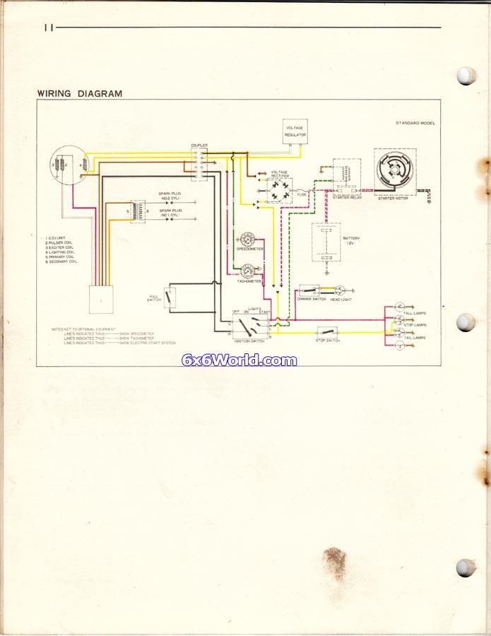 Vintage Snowmobile Wiring Diagram - Wiring Diagram Bots